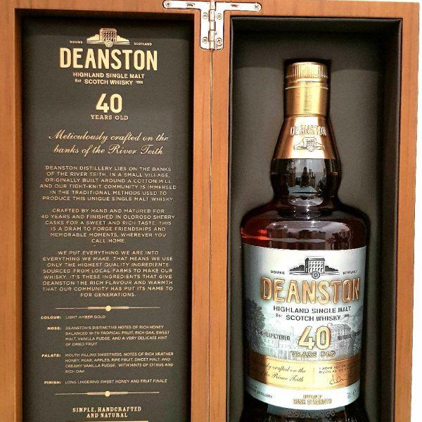 Deanston 40 Year Old Single Malt Scotch Whisky 700ml 46.5 % abv