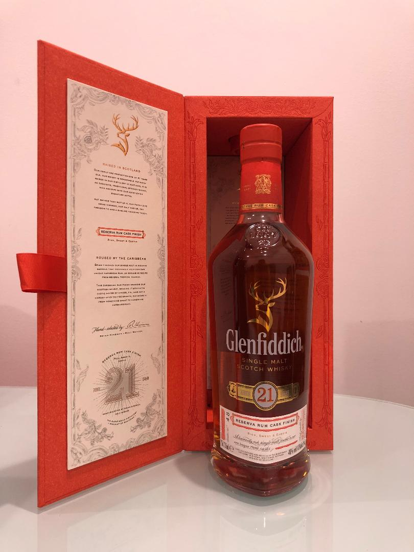Glenfiddich 21 Year Old Gran Reserva Scotch Whisky 700mL @ 40 % abv