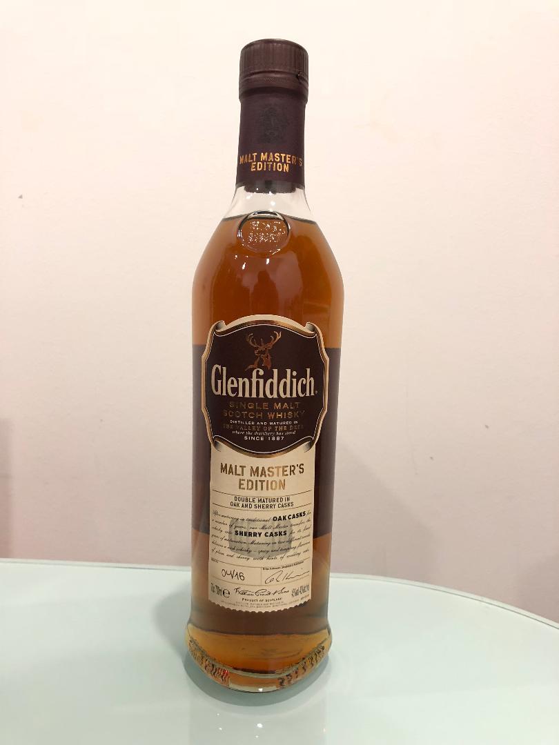 Glenfiddich Malt Masters Boxed Edition Single Malt Sherry Cask Scotch Whisky 700mL @ 43% abv