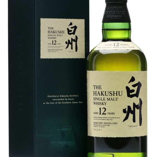 Hakushu 12 Years Old Whisky 700ml 43.5 % abv