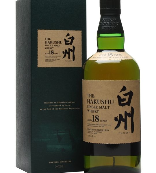 Hakushu 18 Years Old Whisky 700ml 43 % abv