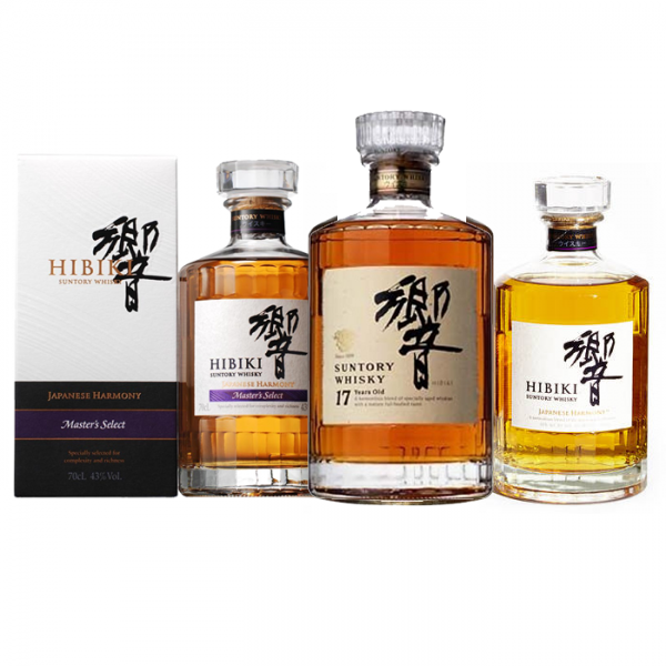 Hibiki Galore: Hibiki Harmony + Hibiki Master select + Hibiki 17 YO