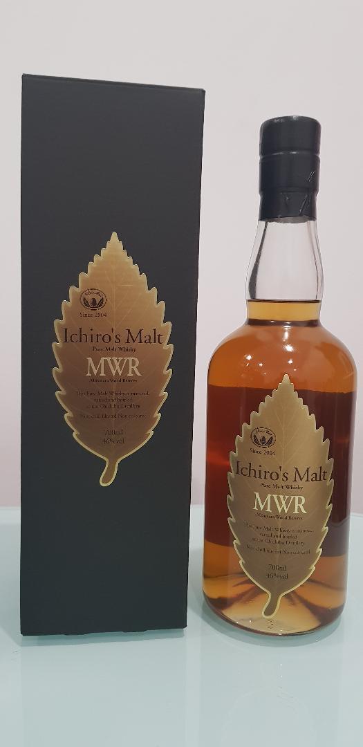 Ichiro's, Chichibu, Mizunara Wood Reserve Pure Malt Whisky 700ml @ 46 % abv
