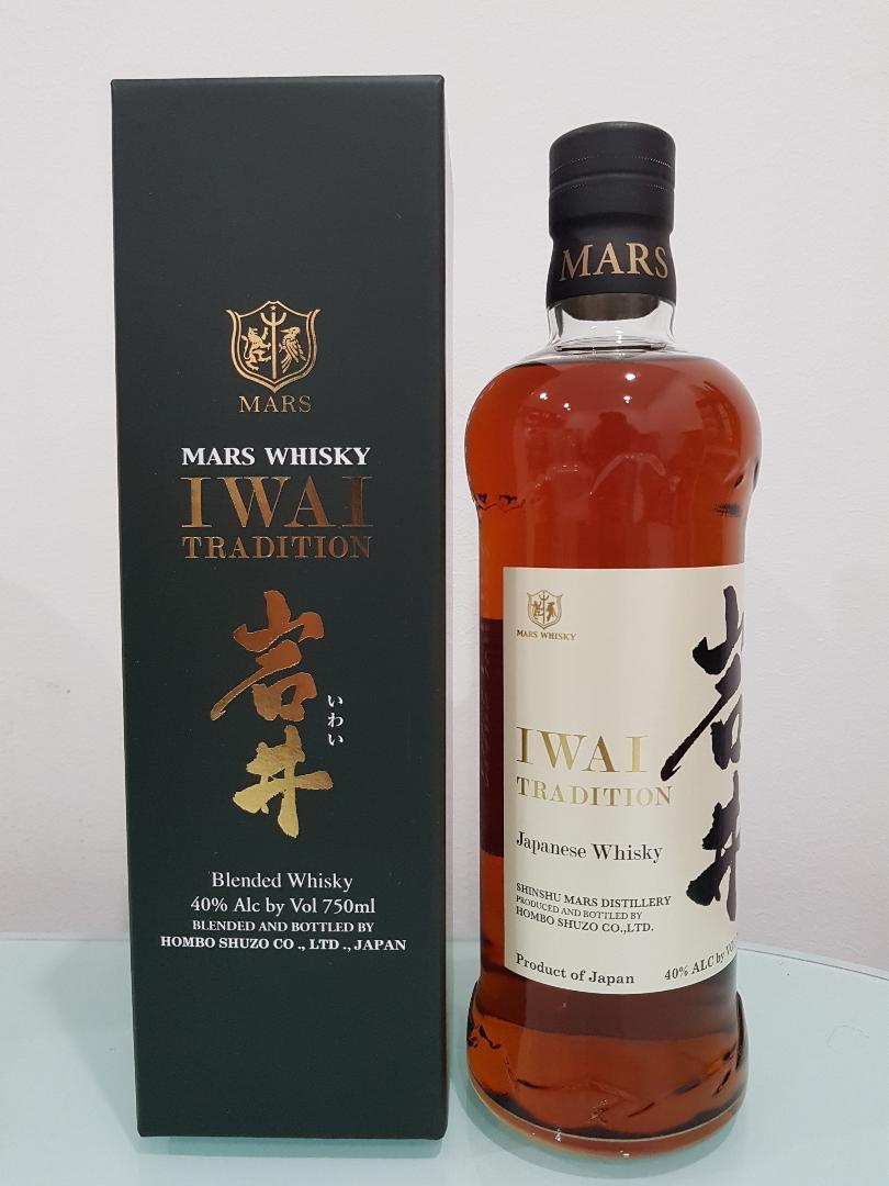 Shinshu Mars Distillery Iwai Japanese Whisky 750ml