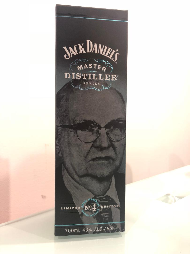 Jack Daniels Master Distiller Series No.4 700mL @ 43% abv
