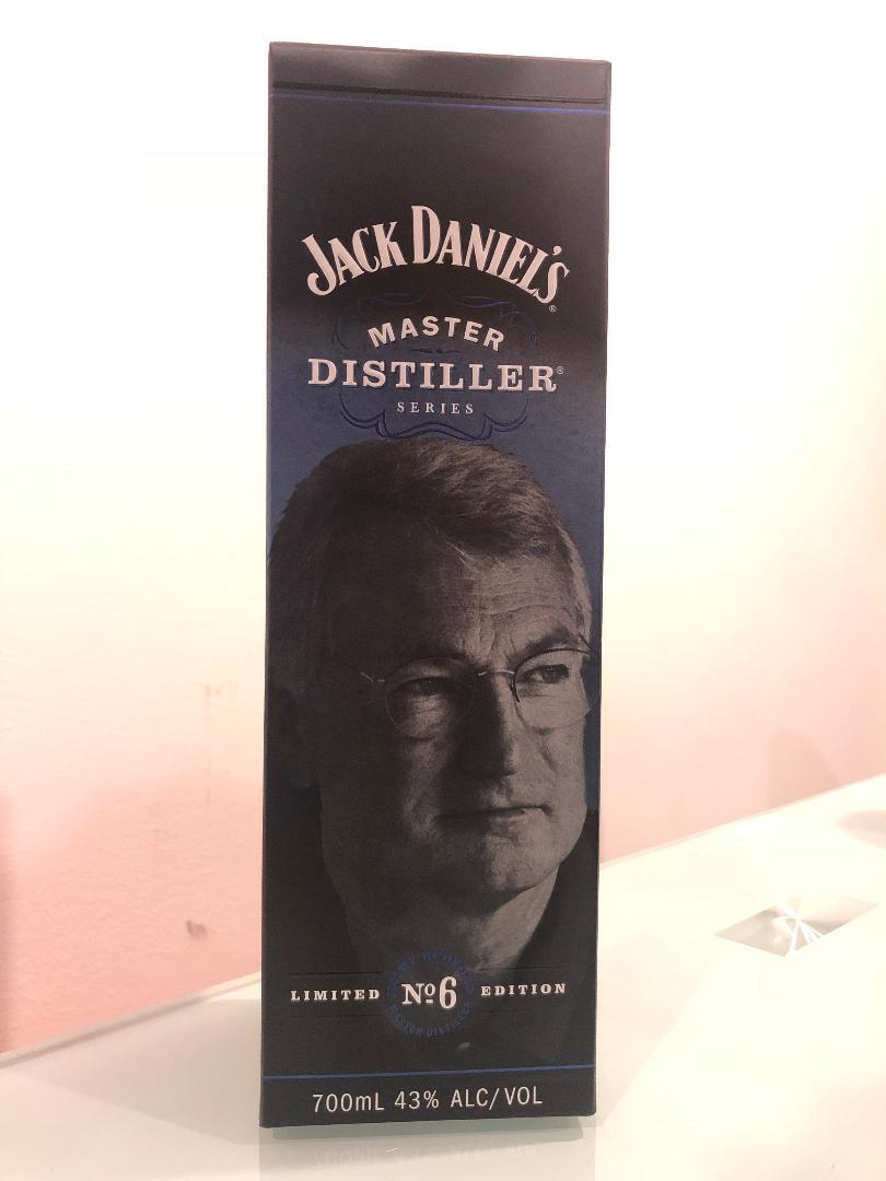 Jack Daniels Master Distiller Series No. 6 700mL @ 43% abv