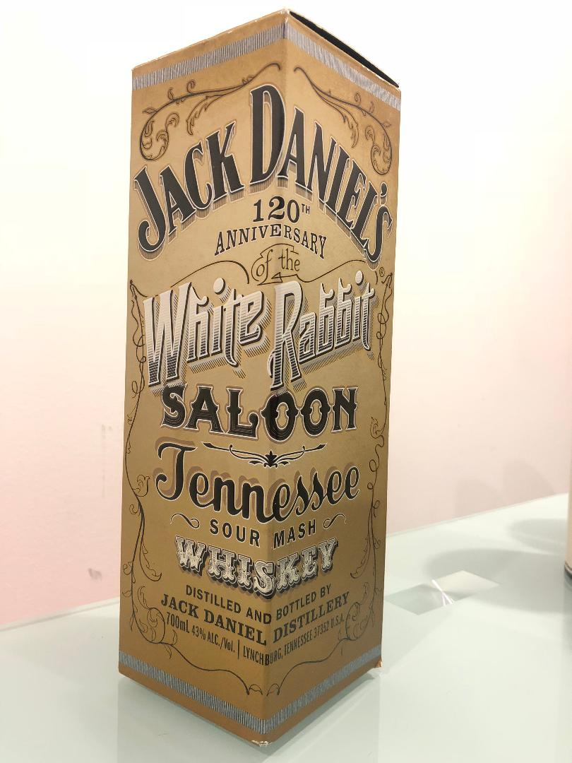 Jack Daniels White Rabbit 700mL @ 43% abv