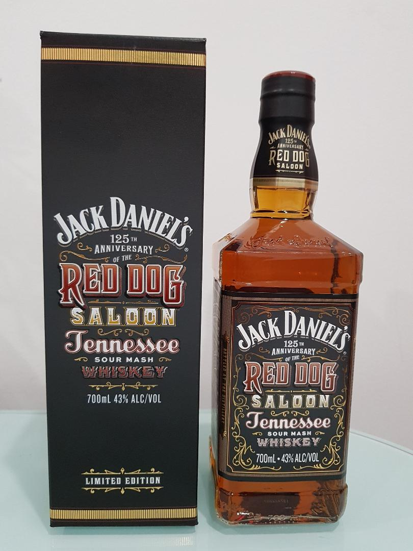 Jack Daniels Red Dog Saloon 125th Anniversary Limited Edition 700ml @ 43 % abv