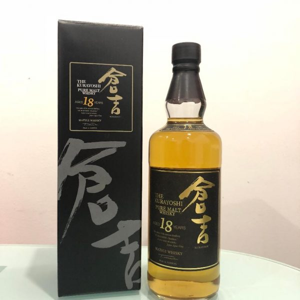 The Kurayoshi 18 Years Old @ 50% abv
