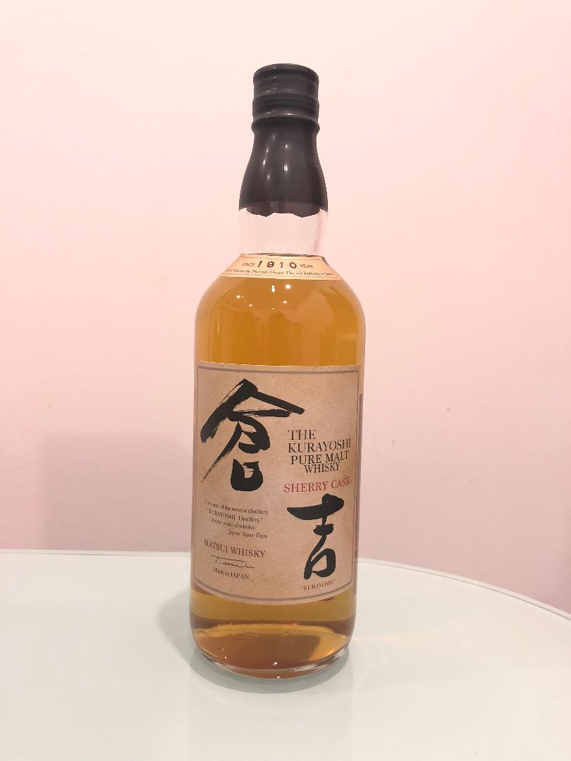 The Kurayoshi Sherry Cask 700mL @ 43% abv