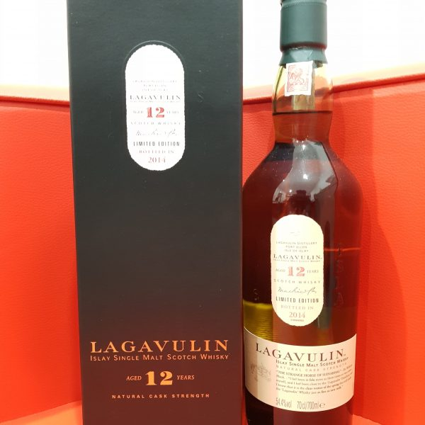 Lagavulin 12 Year Old Single Malt Scotch Whisky 700ml