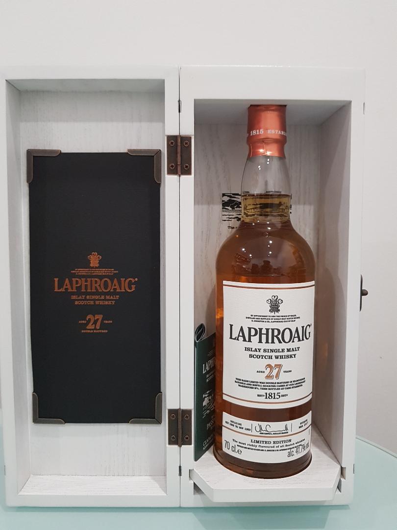 Laphroaig 27 Year Old Single Malt Scotch Whisky 700ml