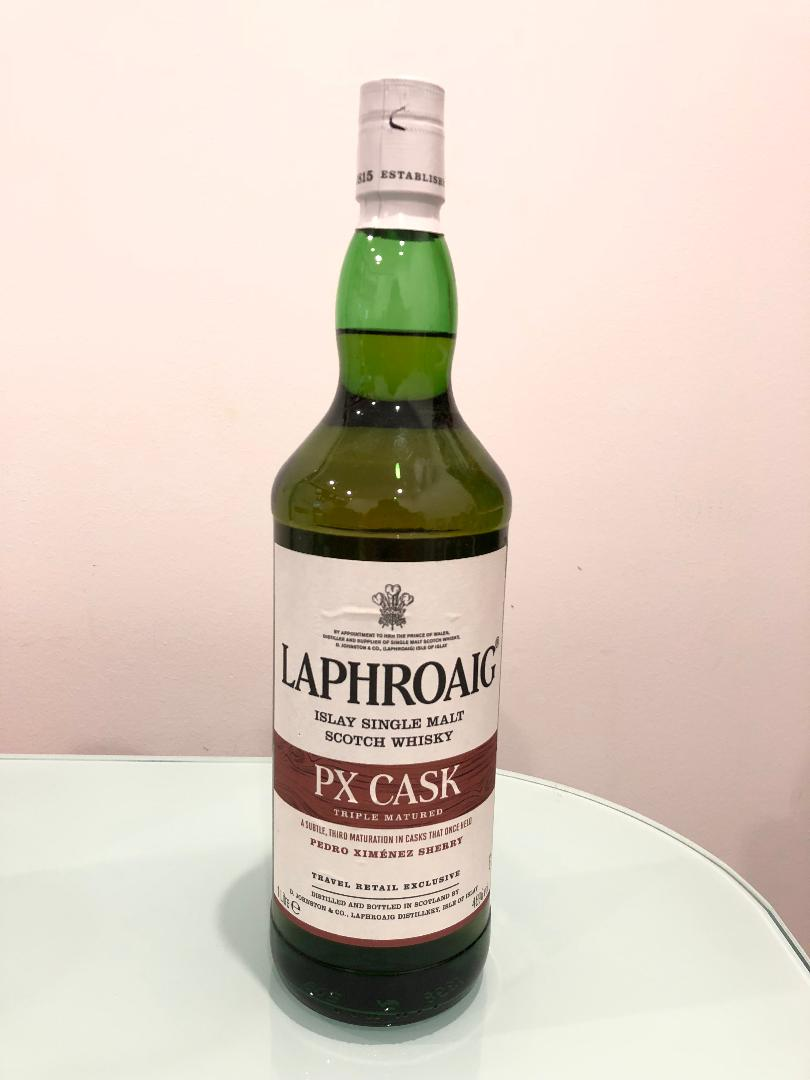 Laphroaig PX Cask Scotch Whisky 1L@ 48% abv