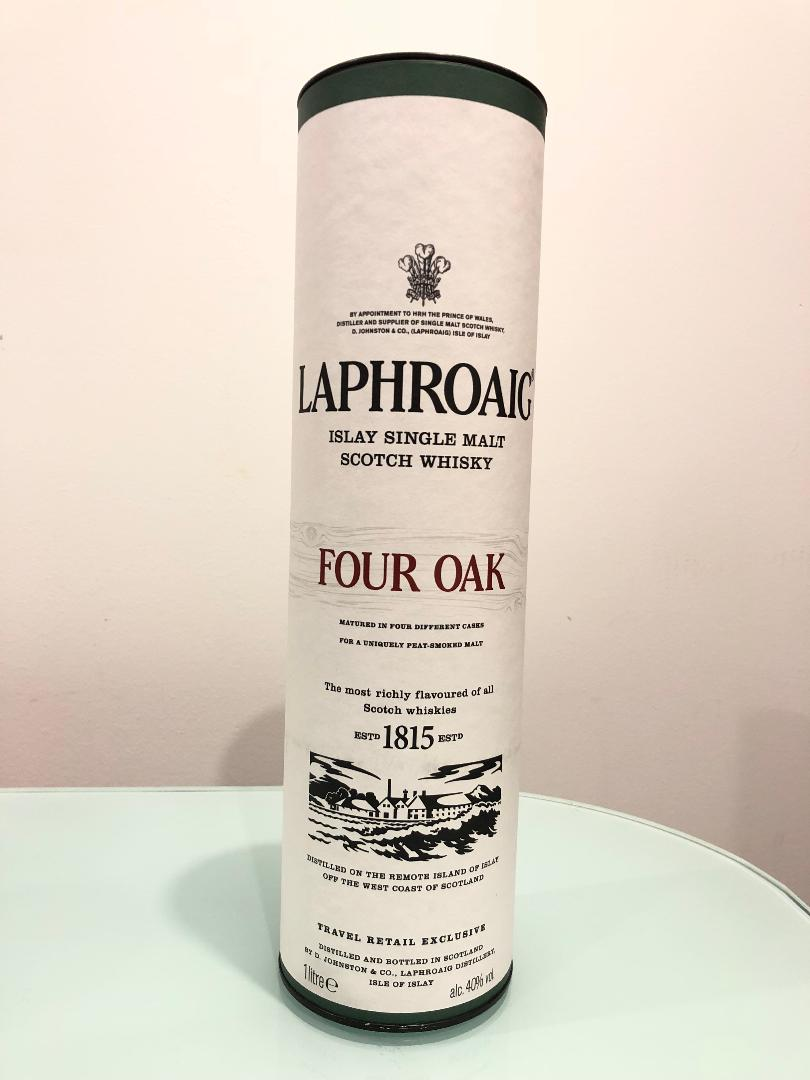 Laphroaig Four Oak Scotch Whisky 1L@ 40% abv