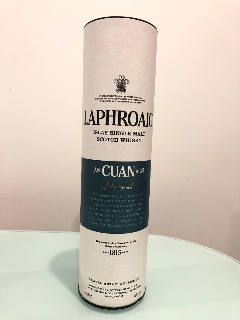 Laphroaig AN CUAN MOR Scotch Whisky 700mL @ 48% abv