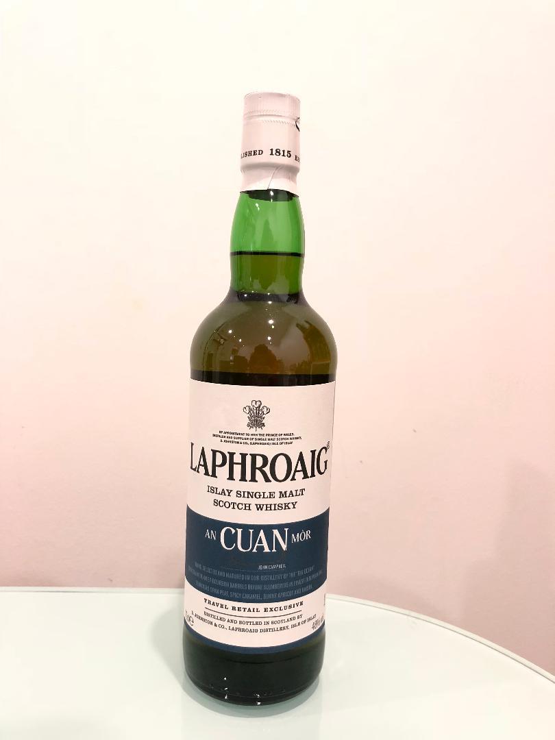 Laphroaig AN CUAN MOR Scotch Whisky 700mL @ 48% abv