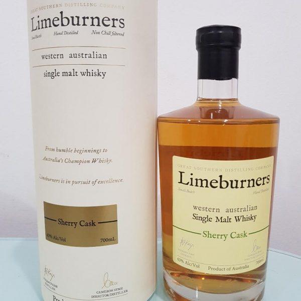 Limeburners Sherry Cask Single Malt Australian Whisky 700ml