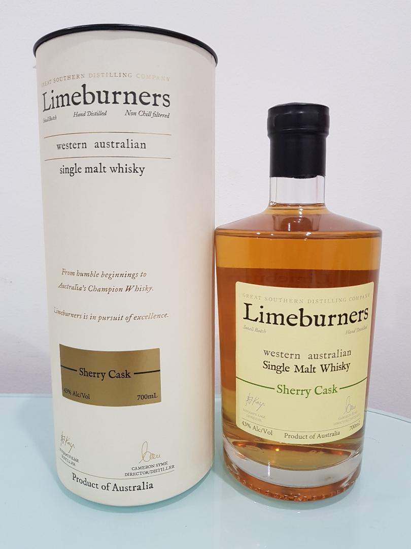 Limeburners Sherry Cask Single Malt Australian Whisky 700ml
