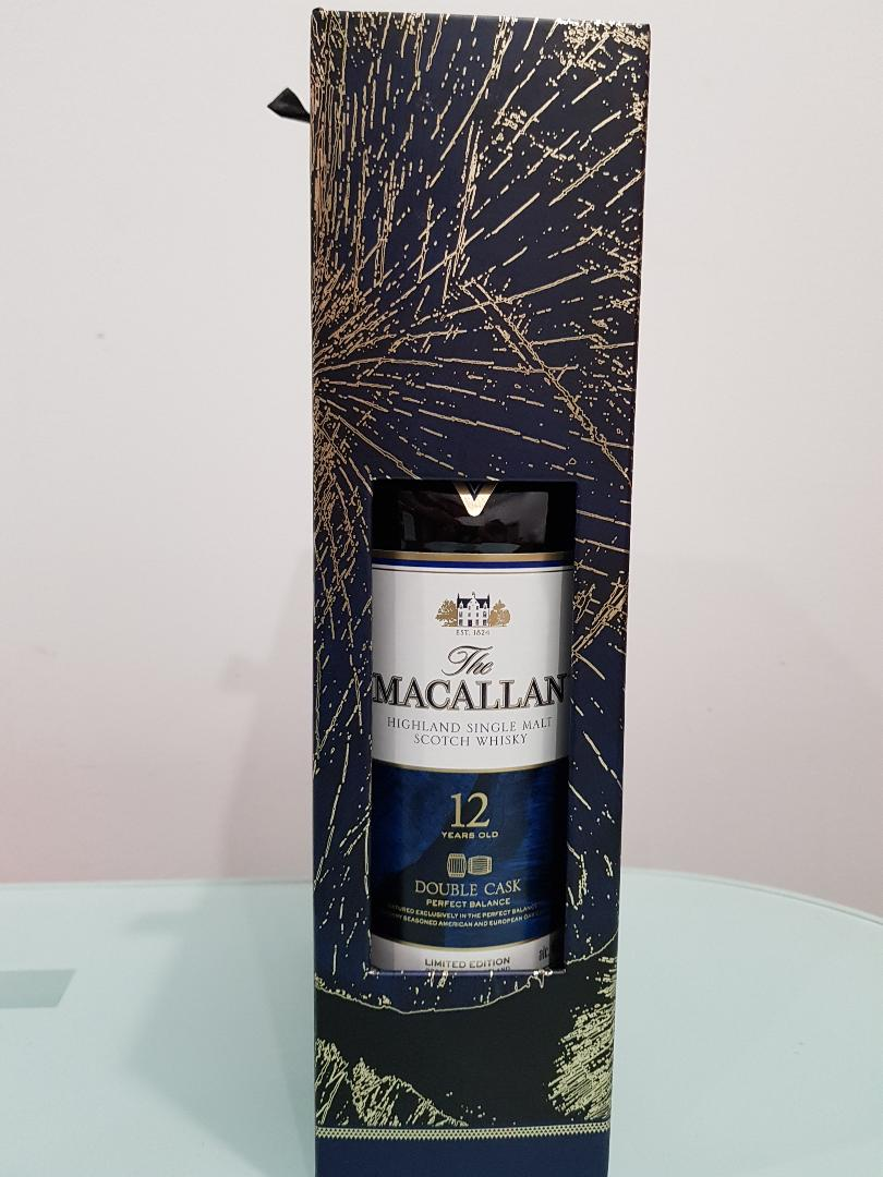Macallan Double Cask 12YO 700 ml Gift Pack with 2 whisky glasses