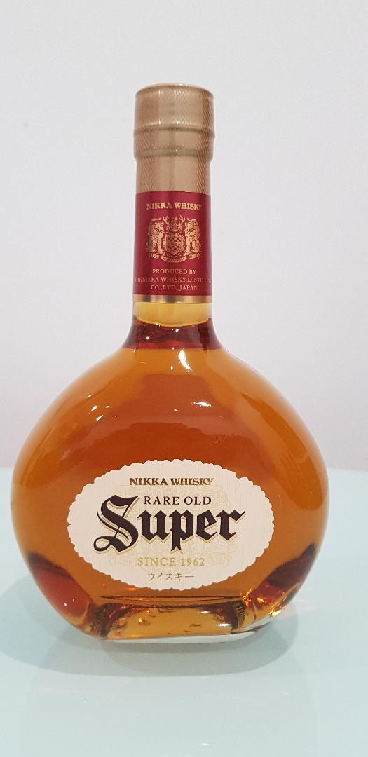 Nikka Super Rare Old Japanese Whisky 700mL @ 43% abv