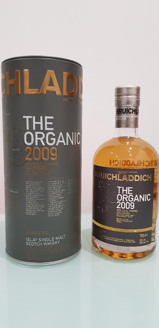 Bruichladdich Organic Barley 2009 Single Malt Scotch Whisky 700ml @ 50 % abv