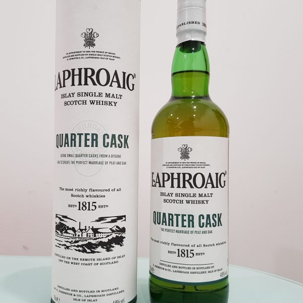 Laphroaig Quarter Cask Single Malt Scotch Whisky 700ml 48 % abv