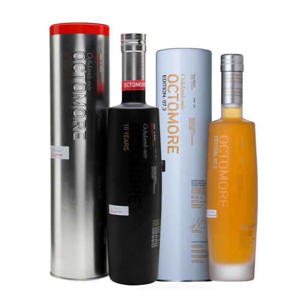 Smoke and Fire: Octomore 7.3 + Octomore 10 YO