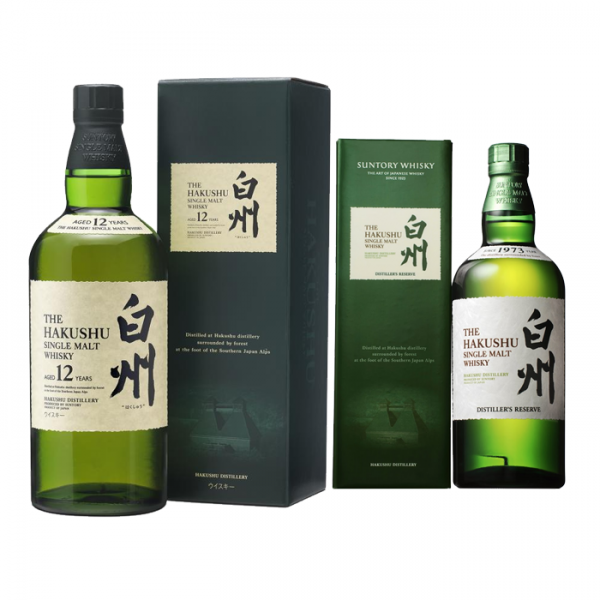 Smooth as Silk: Hakushu Distillers + Hakushu 12 YO