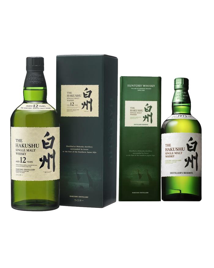 Smooth as Silk: Hakushu Distillers + Hakushu 12 YO