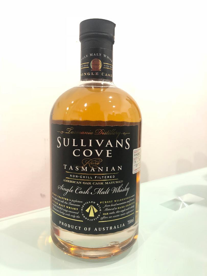 Sullivans Cove American Oak Barrel Single Cask Single Malt Whisky 700ml @ 47.5 % abv