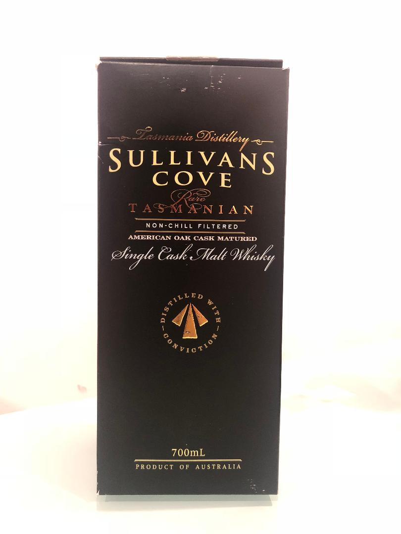 Sullivans Cove American Oak Barrel Single Cask Single Malt Whisky 700ml @ 47.5 % abv