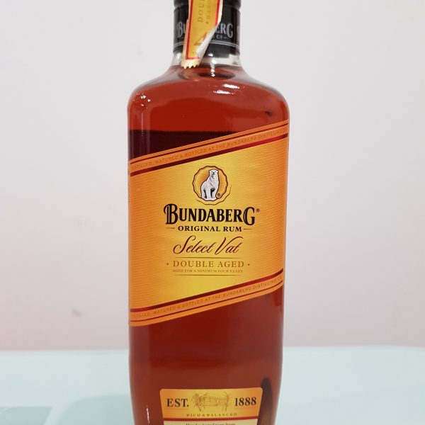 Bundaberg Rum Select Vat 700ml @ 37 % abv (Old Label)