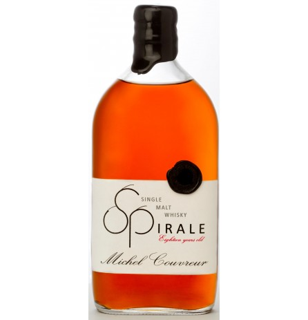 WHISKY MICHEL COUVREUR SPIRALE 18 YEARS SINGLE MALT WHISKY 49% 500ML