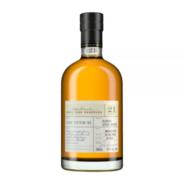 Cruinnich 21 Year Old Rare Cask Reserve Blended Scotch Whisky
