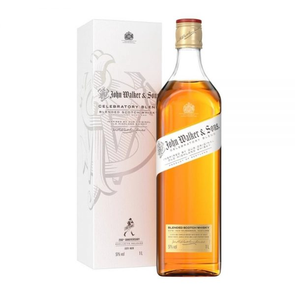 john walker and sons celebratory blend