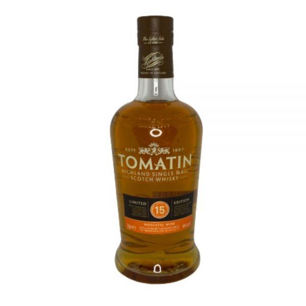 TOMATIN Highland 15 Year old Single Malt Scotch Whisky